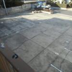 アパート前駐車場